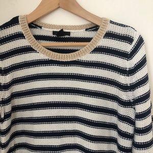 Striped crew neck sweater | H&M